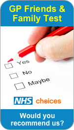 Would you recommend Wolstanton Medical Centre to Friends and Family?
